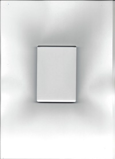 Acryl stempelblok B klein 7.4 x 10.5 cm