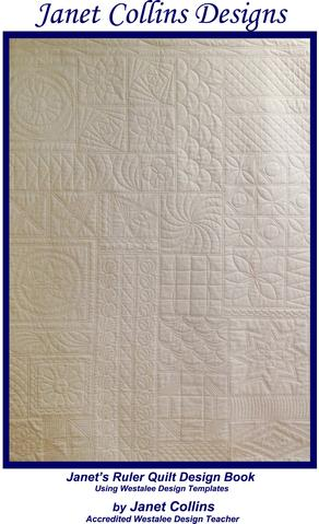 Westalee JC - The Book Janet's Ruler Quilt Design Book