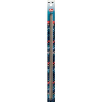 Prym 5 breinaalden zonder knop 2.5mm 30cm