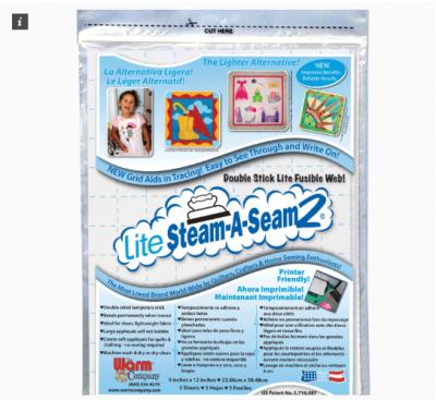 Lite Steam-A-Seam2 (Pak van 5 vellen)
