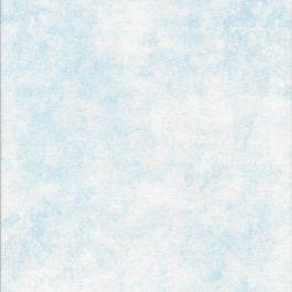 Lichtblauwe stof met witte kerstkristallen-Northcott