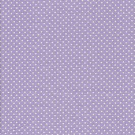 Lila stof met witte stippen-Makower Spot On