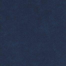 Donker blauwe stof met honingraad motief-Makower
