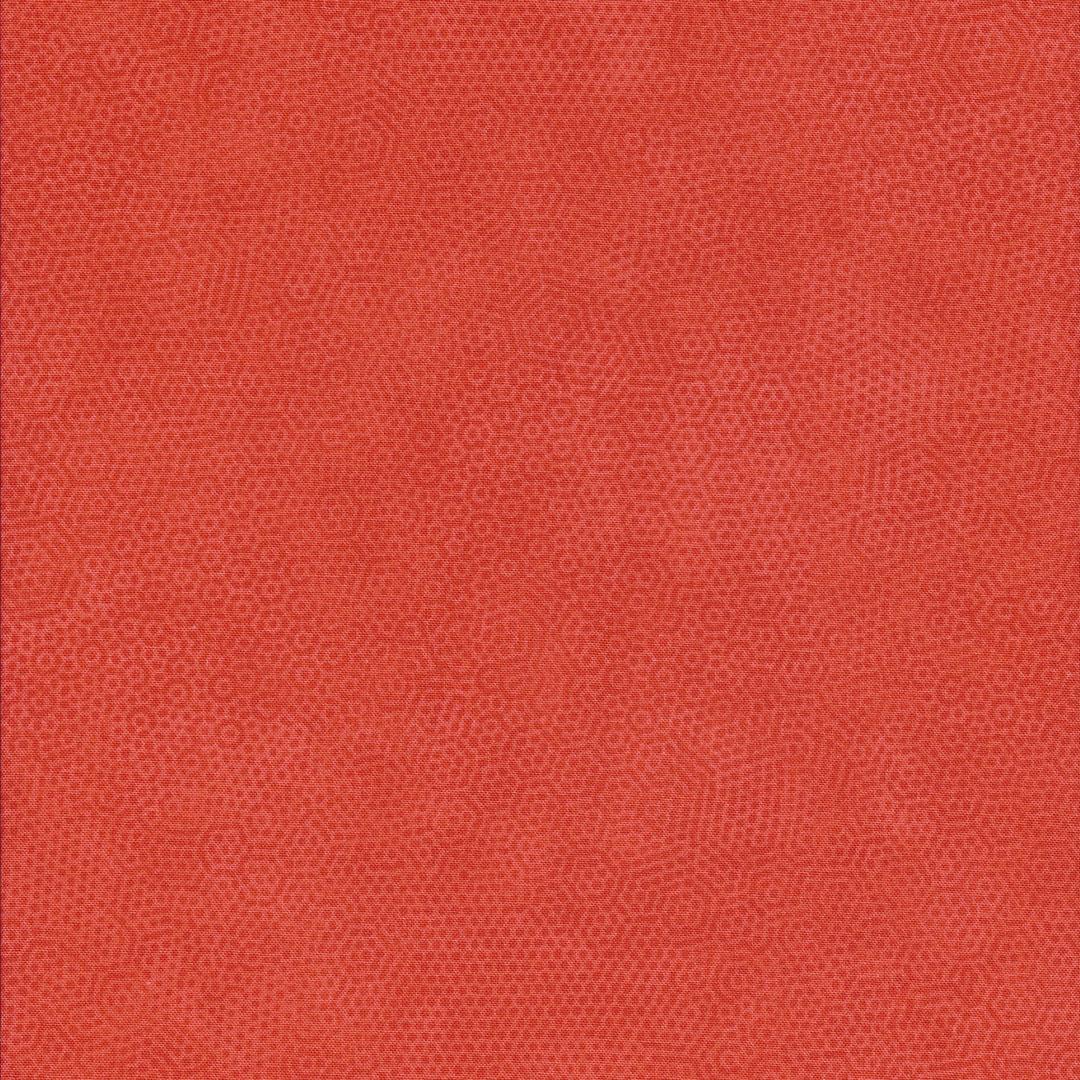 Oranje stof met honingraatmotief-Dimple