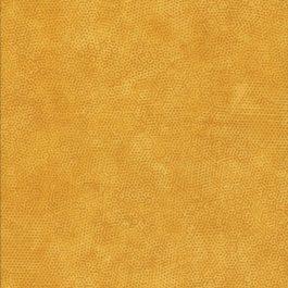 Warm Gele stof met honingraad motief-Makower