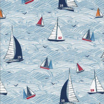 Sail Away bootjes op zee-Makower