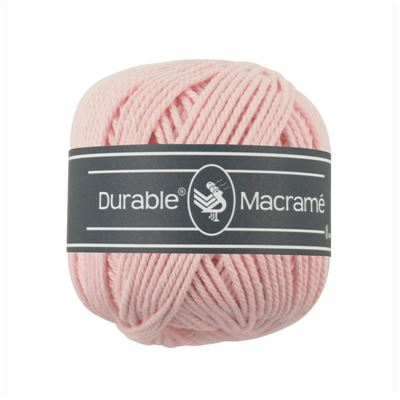 Durable Macramé garen Light Pink 203