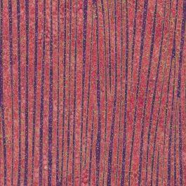 Rozerode en paarse streepstof met gouden stippen en lijnen-Northcott