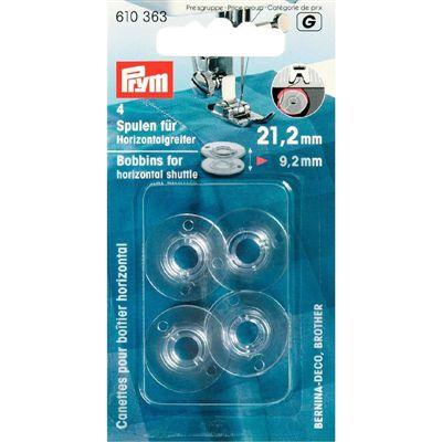 Naaimachine spoeltjes Horizontaal 21.2mm