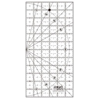 Olfa Quiltliniaal Frosted QR-6x12 inch