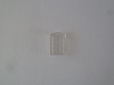 Pixel Medaillon Transparant 3x4cm