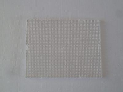 Pixel Basisplaat Transparant 10x12cm