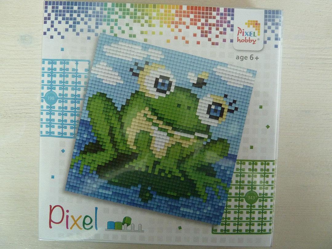 Pixel setje Kikker