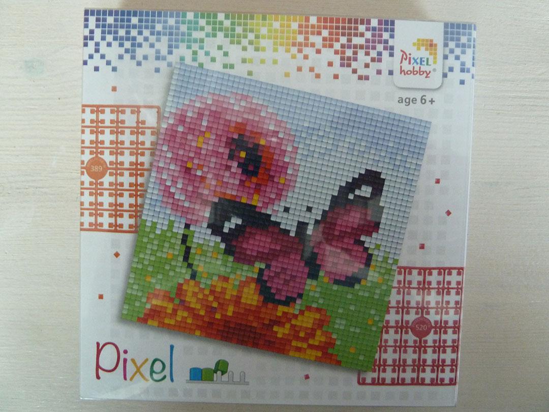 Pixel setje Vlinder