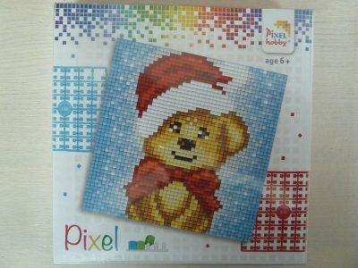 Pixel setje Kerstbeer