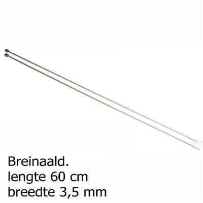 Pony breinaalden 3.5mm 60cm