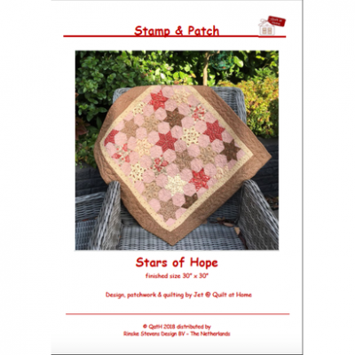 Quiltpatroon Stars of Hope