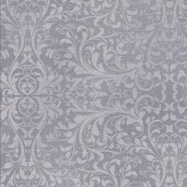 Grijze stof met licht grijs motief-Quilting Treasures