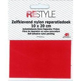 Zelfklevend Nylon Reparatiedoek Rood