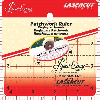 Liniaal Patchwork Ruler Vierkant 41/2 x 41/2 inch