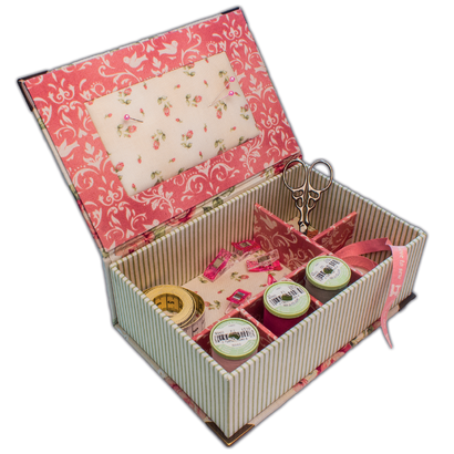 Kartonnagepakket Smal Sewing Box