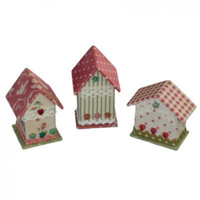 Kartonnagepakket 3 Mini Houses