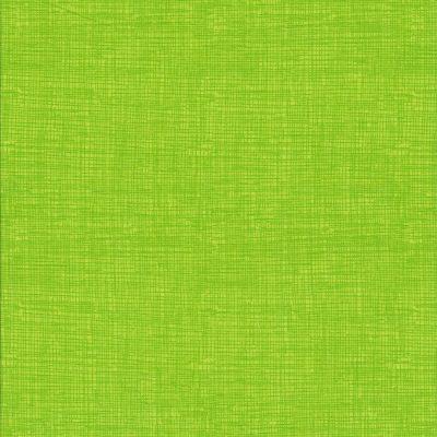 Fel groene stof met weefmotief