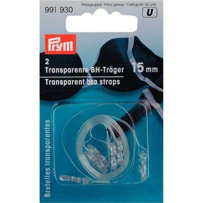 Transparante BH bandjes 15 mm