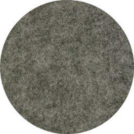 Vilt op rol 45cm breed Donker grijs geméleerd