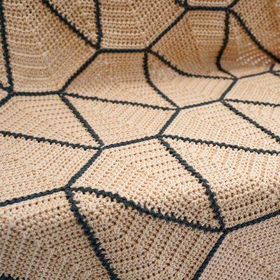 Haakpakket Vliegerdeken Sand