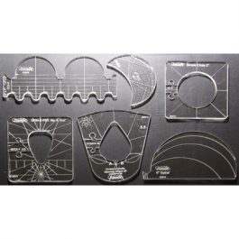 Westalee 6 Piece Template set High Shank