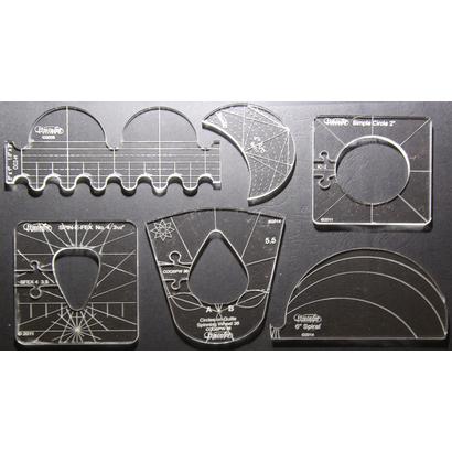 Westalee 6 Piece Template set High Shank