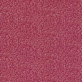 Rode stof met witte takjes-Windham