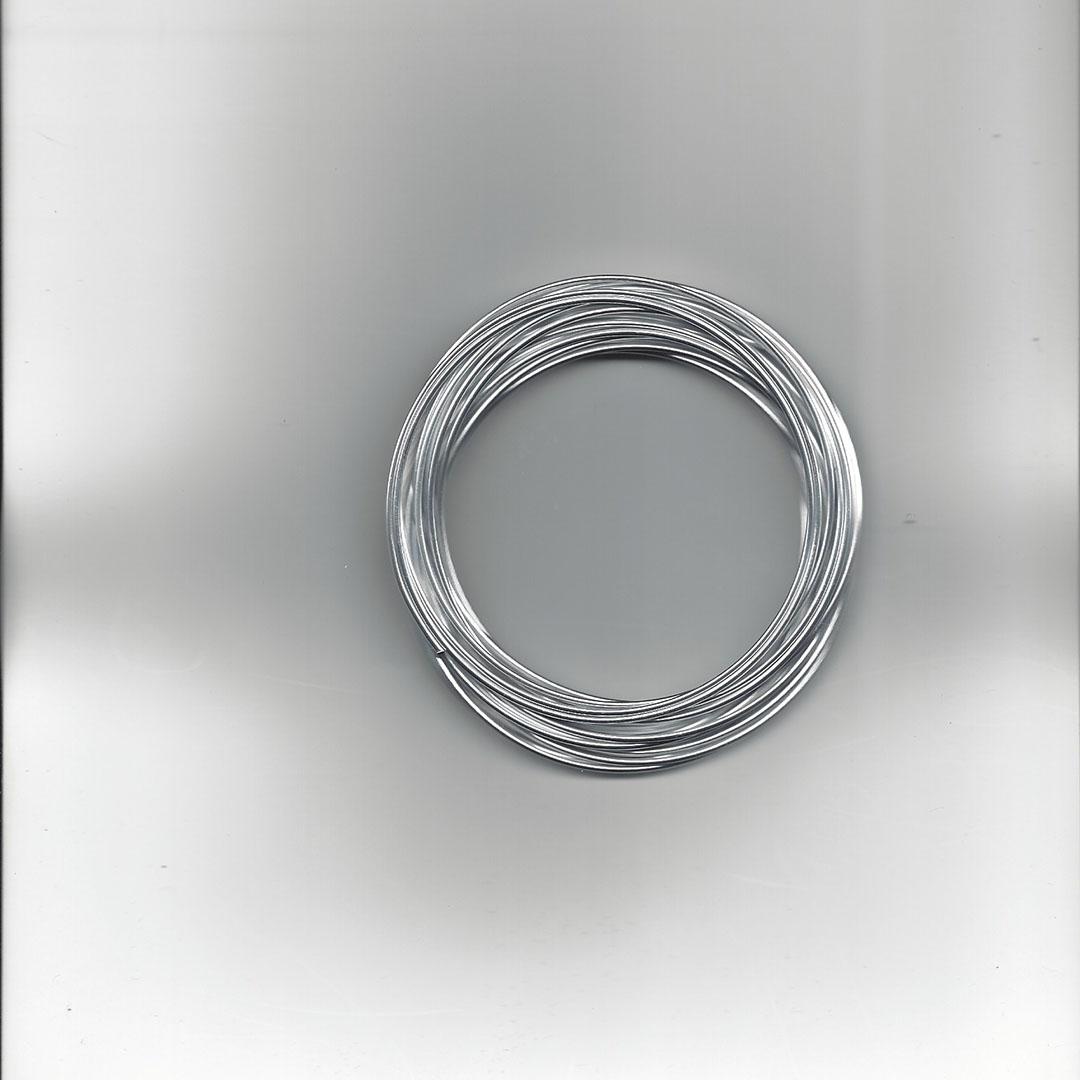 Aluminium draad 1.5 mm 6 meter