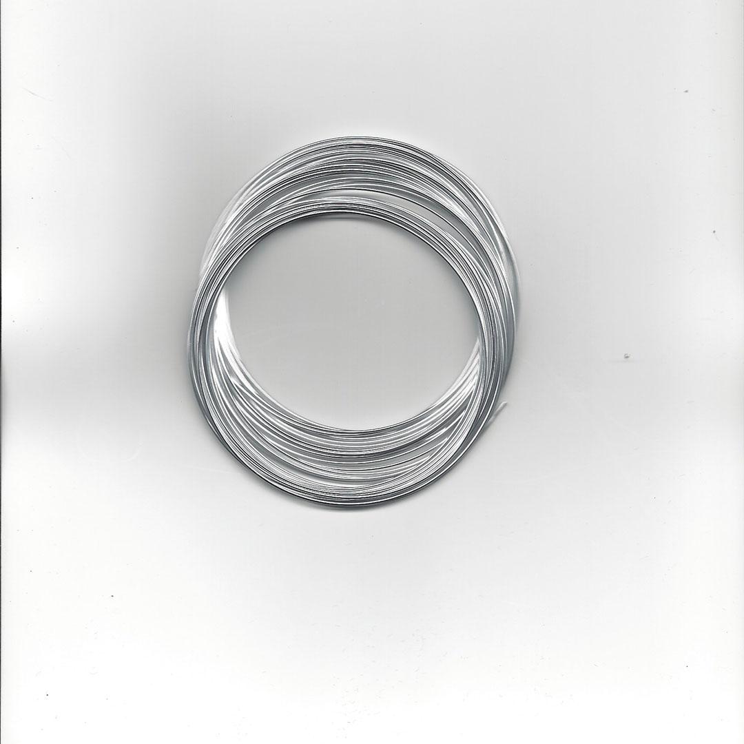 Aluminium draad 1.0 mm 8 meter