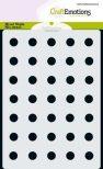 Stencil Sjabloon cirkels 9mm