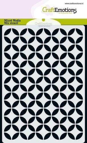 Stencil Sjabloon cirkel decoratief
