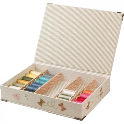 Kartonnage pakket Quilt Spool Box