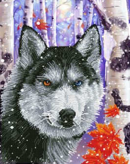 Diamond Dotz Wolf