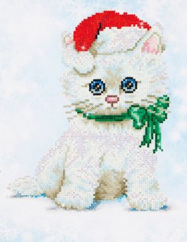 Diamond Dotz Crissy Kitty design size 27 x 35 cm