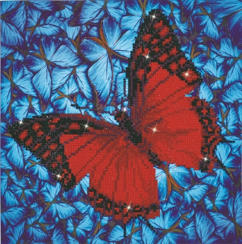 Diamond Dotz Flutter by Red Design Size 30.5 x 30.5cm