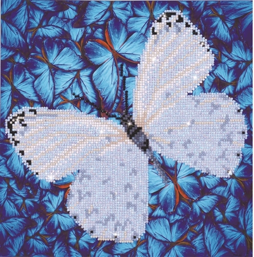 Diamond Dotz Flutter by White Design Size 30.5 x 30.5cm