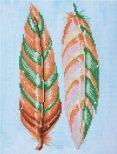 Diamond Dotz Feather Whispers Design Size 28 x 37cm