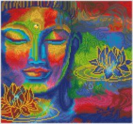 Diamond Dotz Peace & Tranquility Design size 40 x 37 cm