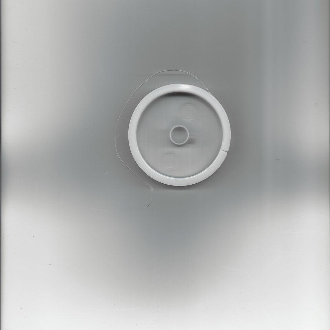 Elastisch nylon kralen rijgdraad 0.8 mm