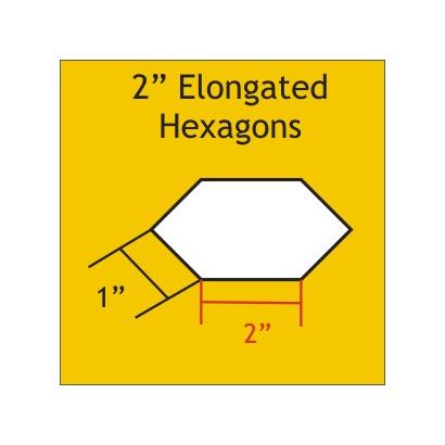 "Elongated Hexagon 2"" EHEX200"