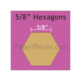 Hexagon 5/8 HEX 058S