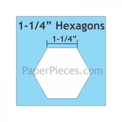 Hexagon 1-1/4 HEX125