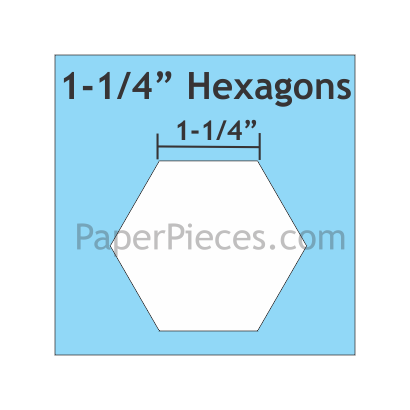 Hexagon 1-1/4 HEX125