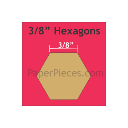 Hexagon 3/8 HEX038